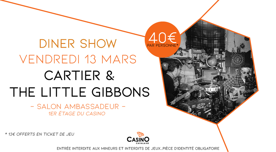 CARTIER AND THE LITTLE GIBBONS en concert