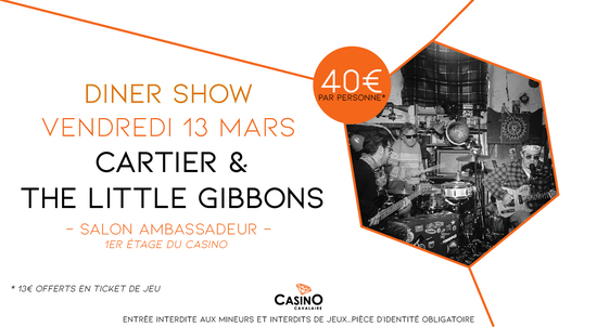 CARTIER AND THE LITTLE GIBBONS en concert