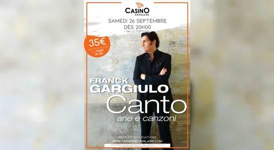 FRANCK GARGIULO EN CONCERT