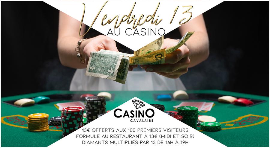 Vendredi 13 au Casino